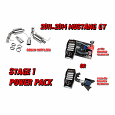 2011-2014 Mustang GT 5.0 Coyote Stage 1 Power Package up to 60 HP gain