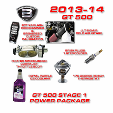 2013-14 Shelby GT500 750+ HP Stage 1 Power Package