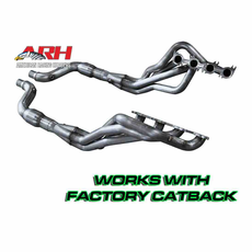 """2015-17 Mustang Coyote ARH Direct Connect Long Tube Header 1-7/8"""" X 3"""" 2-1/4"""" Conn. Pipe W/Cats"""