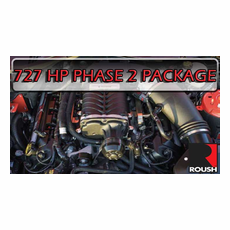 2015-17 Mustang GT 727HP Roush Phase 2 Supercharger Package