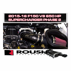 2015-17 ROUSH F-150 5.0L Phase 2 - 650 HP Calibrated Supercharger System