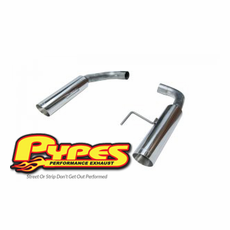 2015-17 Mustang GT Pypes Bomb Axle Back Exhaust System SFM81MS