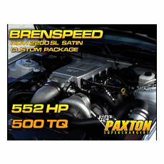 Brenspeed 552HP  Paxton NOVI 2200SL Supercharger Package Satin (05-10)Mustang GT
