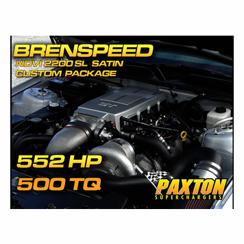 Mustang Paxton Superchargers
