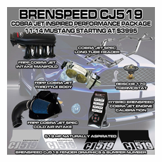 2011-14 Mustang GT Brenspeed CJ519 Serialized Power Package