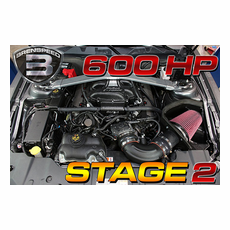 Brenspeed Stage 2 600 HP E-Force Supercharger Package 05-2010 Mustang