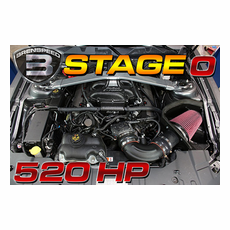 Brenspeed Stage ZERO 520 HP E-Force Supercharger Package 05-2010 Mustang