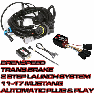 Brenspeed Trans Brake 2 Step Launch System 11-17 Mustang Automatic (Plug  and Play)