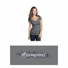 Ladies Brenspeed V Neck T-Shirt