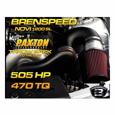 "Mustang GT Paxton NOVI 1200 SL  Supercharger ""Throwback"" Brenspeed Package (05-10)"