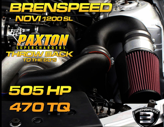 05-10 Mustang Paxton Superchargers