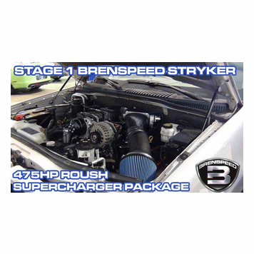 2006-10 Explorer 4 6L and 2007-10 Sport Trac 4 6L Stage 1 Brenspeed Stryker  475HP Roush Supercharger Package
