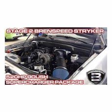 2006-10 Explorer 4.6L and 2007-10 Sport Trac 4.6L Stage 2 Brenspeed Stryker 520HP Roush Supercharger Package