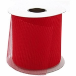 "3"" Wide Spool Netting 40 Yards - Red"