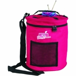 "ArtBin Yarn Storage Drum 12"" Round - Raspberry"