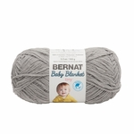 Bernat Baby Blanket Tiny Yarn - Gray Owl