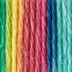Bernat Handicrafter Cotton Yarn Ombres & Prints 340 Grams - Psychedelic