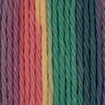 Bernat Handicrafter Cotton Yarn Ombres & Prints 340 Grams - Rainbow