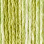 Bernat Handicrafter Cotton Yarn Stripes - Lime
