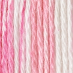 Bernat Handicrafter Cotton Yarn Stripes - Pinky