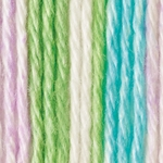 Bernat Handicrafter Cotton Yarn Stripes - Violet