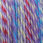 Bernat Softee Baby Colors Yarn - Purple Rainbow