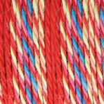 Bernat Softee Baby Colors Yarn - Red Rainbow
