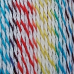 Bernat Softee Baby Colors Yarn - White Rainbow
