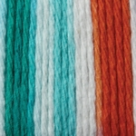 Bernat Sugar'n Cream Cotton Ombre Yarn - Ahoy