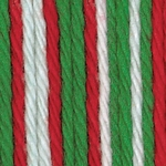 Bernat Sugar'n Cream Cotton Ombre Yarn - Christmas Mistletoe