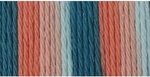 Bernat Sugar'n Cream Cotton Ombre Yarn - Coral Seas