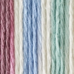 Bernat Sugar'n Cream Cotton Ombre Yarn - Freshly Pressed