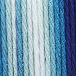 Bernat Sugar'n Cream Cotton Ombre Yarn - Hippi