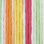 Bernat Sugar'n Cream Cotton Ombre Yarn - Over The Rainbow