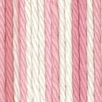 Bernat Sugar'n Cream Cotton Ombre Yarn - Strawberry Cream