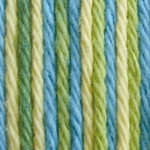 Bernat Sugar'n Cream Cotton Ombre Yarn - Summer Splash
