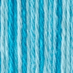 Bernat Sugar'n Cream Cotton Ombre Yarn - Swimming Pool