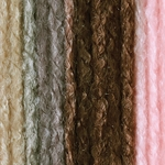 Bernat Super Value Ombre Yarn - Pink Taupe