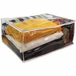 Blanket and Yarn Storage Bag - Clear