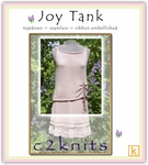 c2knits Joy Tank Pattern