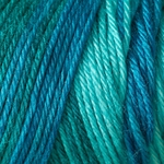 Caron Simply Soft Ombre Yarn 4 oz - Teal Zeal (Clearance)