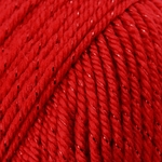 Caron Simply Soft Party Yarn - Rich Red Sparkle