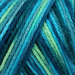 Caron Simply Soft Paints Yarn 4 oz - Peacock Feather