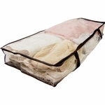 Clear Under The Bed Storage Bag