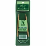 "Clover Bamboo Circular Knitting Needles 16""-Size 10 (6mm)"