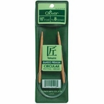 "Clover Bamboo Circular Knitting Needles 16""-Size 10.5 (6.5mm)"