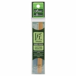 """Clover Bamboo Double Point Knitting Needles 5"""" 5/Pkg - Size 0 (2mm)"""