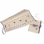 Doublepoint Knitting Needle Numbered Storage Unit - Natural
