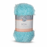 Fair Isle Boa Yarn - Iced Aqua
