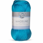 Fair Isle Madeline Yarn - Atomic Turquoise